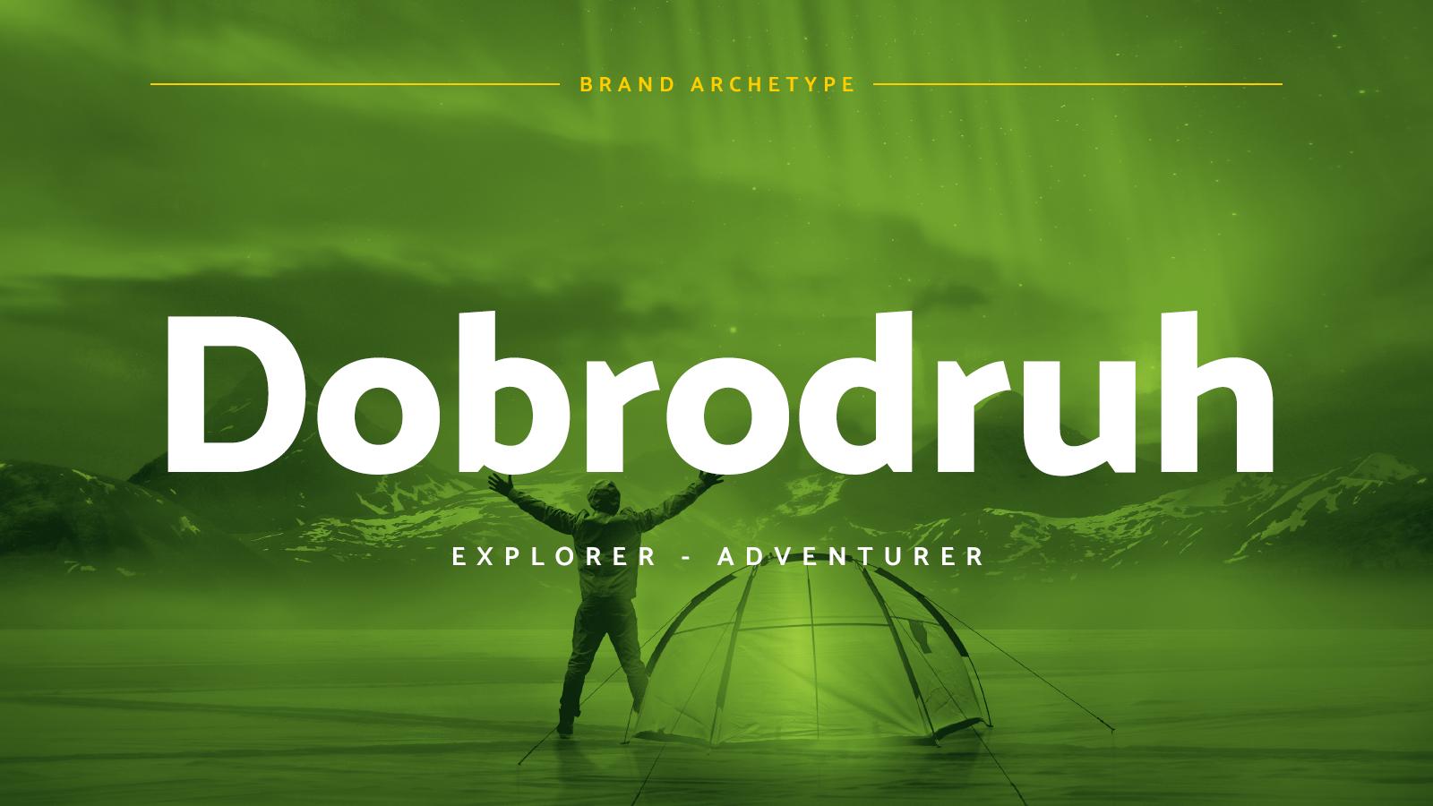 Brand archetypy: Prieskumník (Explorer - Adventurer)
